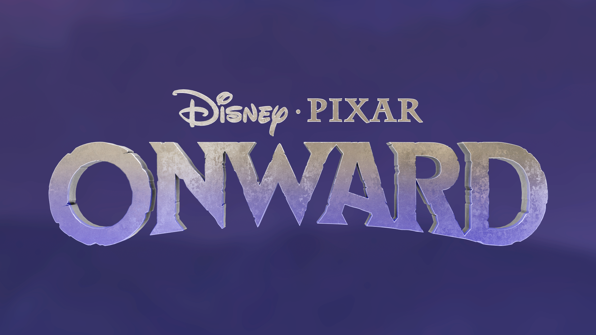 Disney/Pixar Onward Title Treatments