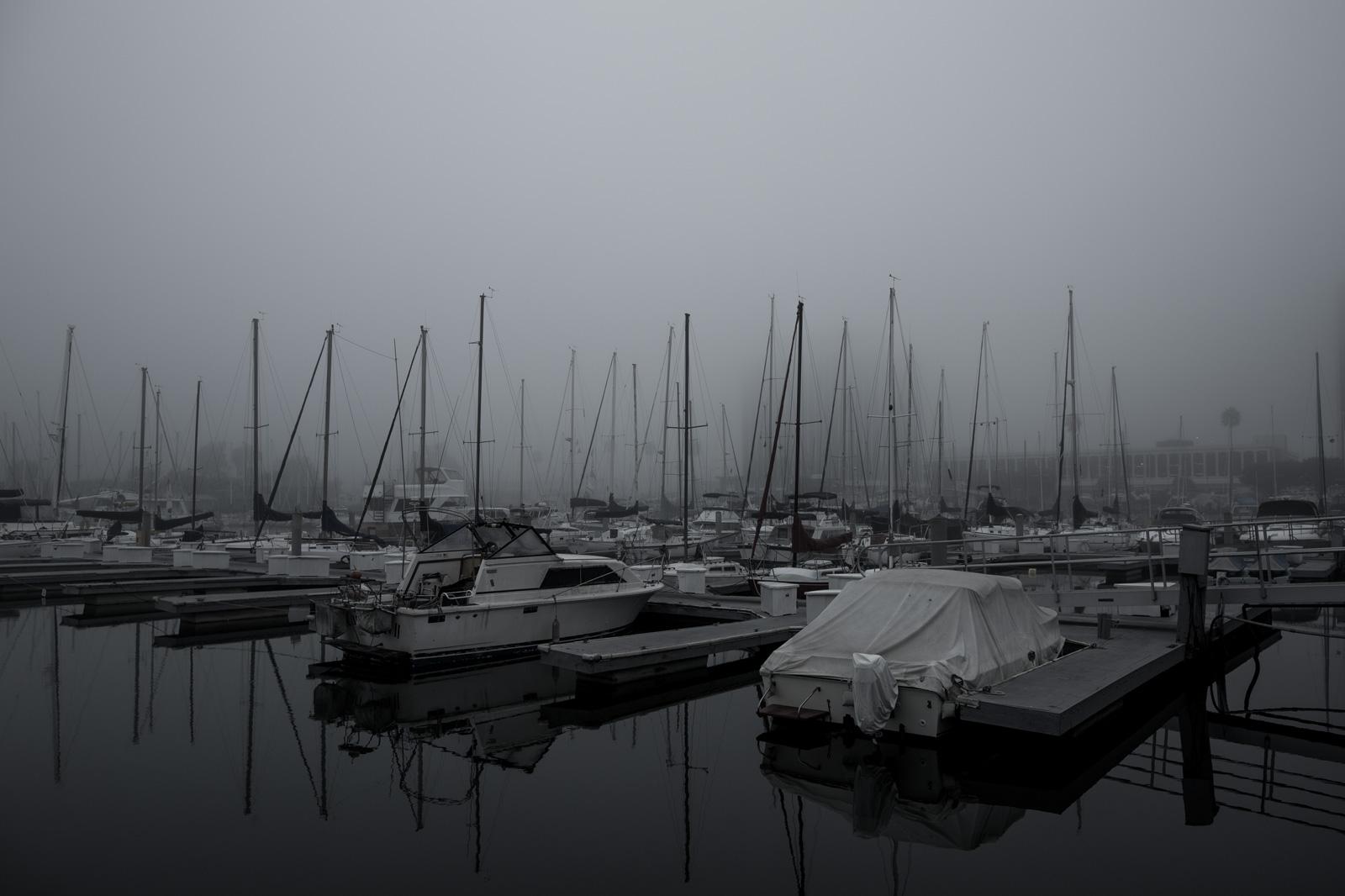 Foggy Marina Del Rey